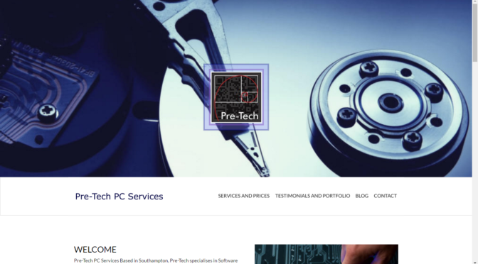 New Pre-Tech website now live!