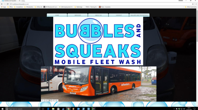 Bubbles and Squeaks new website