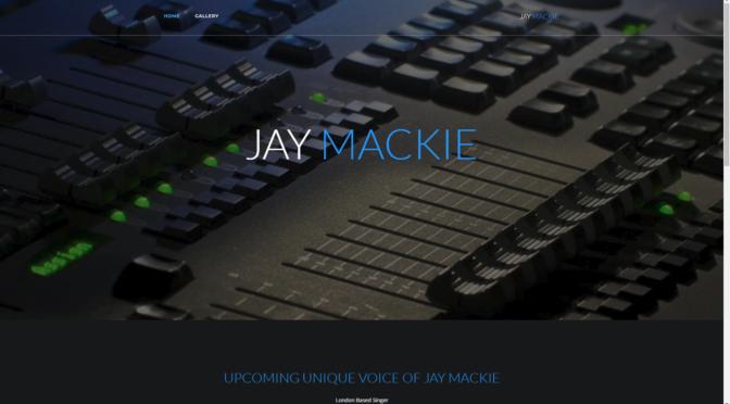 New website for singer Jay Mackie