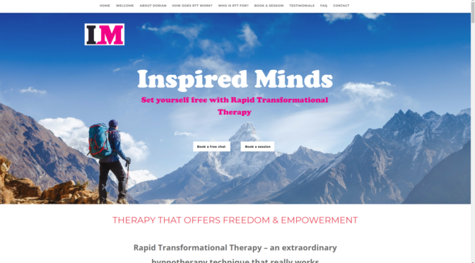 Inspired Minds, new website!
