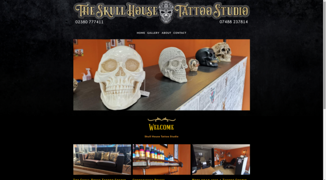 skull house tattoo studio